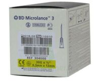 BD MICROLANCE 3, G30 1/2, 0,30 mm x 13 mm, jaune