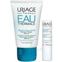 Uriage Eau Thermale Crème d'eau mains T/30ml+Stick lèvres