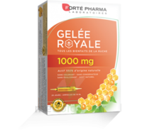 Forte Pharma Gelée royale 1000 mg Solution buvable 20 Ampoules/10ml