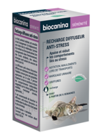 Biocanina Recharge pour diffuseur anti-stress chat 45ml